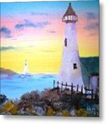 Lighthouse Study Metal Print