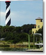 Lighthouse Water View Metal Print