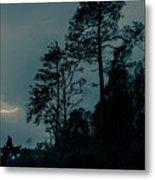 Lighting On The Lake 2 Metal Print