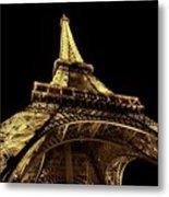 Lighting The World Of Paris Metal Print