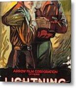 Lightning Bryce 1919 Metal Print