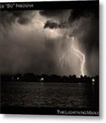 Lightning Energy Poster Print Metal Print