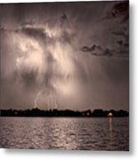 Lightning Man Metal Print