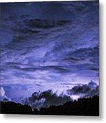Lightning Over Pohnpei Metal Print