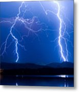Lightning Storm 08.05.09 Metal Print by James BO  Insogna