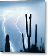 Lightning Storm Chaser Payoff Metal Print