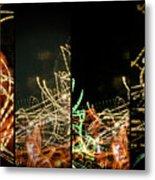 Lightpainting Quads Art Print Photograph 5 Metal Print