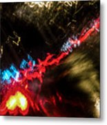 Blurred Ladder Metal Print