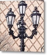 Lightpost Metal Print