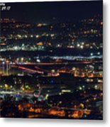 Lights Across Birmingham Metal Print