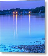 Lights Across The Bay Metal Print