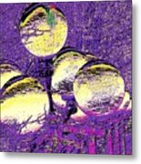 Lights Along The Way 4 Metal Print