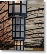 Lights At City Place Metal Print