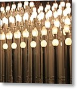 Lights At The Lacma La County Museum Of Art 0766 Metal Print