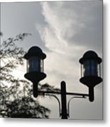 Lights In The Sky Metal Print