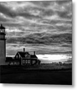 Lights In The Storm Metal Print
