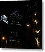 Lights On Tampa Metal Print