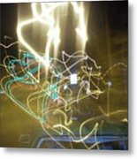 Lights That Attack Cars Metal Print