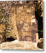 Like Ancient Graffiti  Metal Print
