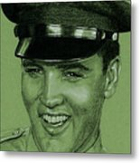 Like Any Other Soldier Metal Print