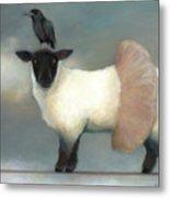 ...like Lambs.. Metal Print