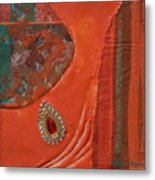 Like The Fabrics Of India Metal Print