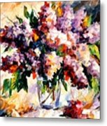 Lilac - Morning Mood Metal Print