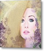 Lilacs And Lavender Metal Print