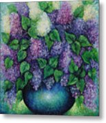 Lilacs No 1. Metal Print