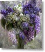 Lilacs Of Love Metal Print
