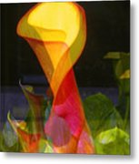 Lilies Metal Print by Eileen Shahbazian