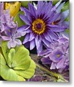 Lilies No. 38 Metal Print by Anne Klar