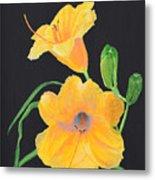 Lilies Of September Metal Print