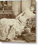 Lillie Langtry (1852-1929) Metal Print