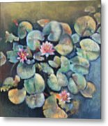 Lillies In Spain Metal Print