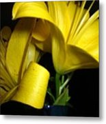 Lilliums By Two Metal Print