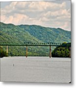 Lilly Bridge - Hinton West Virginia Metal Print