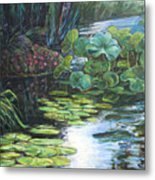 Lilly Pads Metal Print by Gary Symington