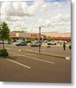 Lilongwe City Mall Metal Print