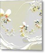 Lily Chains Metal Print