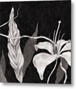 Lily In The Night Metal Print