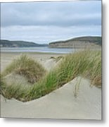 Limantour Spit On A Grey Day Metal Print