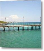Limassol Marina  Metal Print