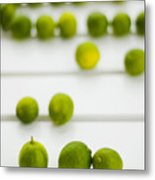 Lime Green Metal Print