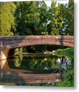Lime Valley Bridge Metal Print
