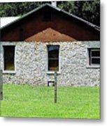 Limestone Family Home Metal Print