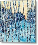 Limited Edition Birch Series 6 Metal Print