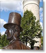 Lincoln At The Tower Metal Print