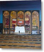 Lincoln Center Metal Print