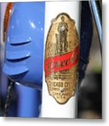 Lincoln Chicago Cycle Supply Company Metal Print